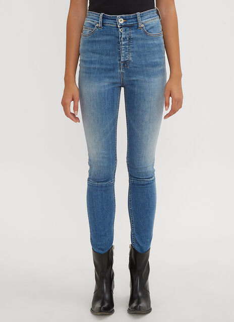 Unravel Project Vintage High Waist Skinny Jeans