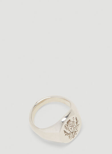 Johnny Hoxton Fee Ring in Silver