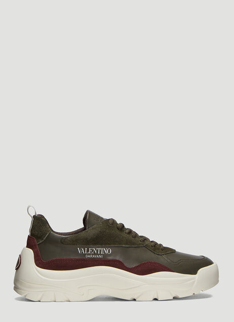 Valentino V Leather Bansi Sneakers