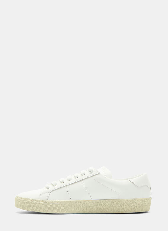 f8a3993e1a Saint Laurent. SL 06 Court Classic Sneakers in White