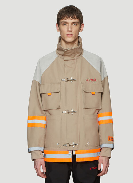 Heron Preston Canvas Fireman Jacket