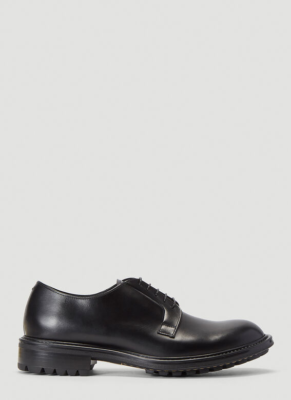 Aiezen Lace-Up Derby Shoes 1