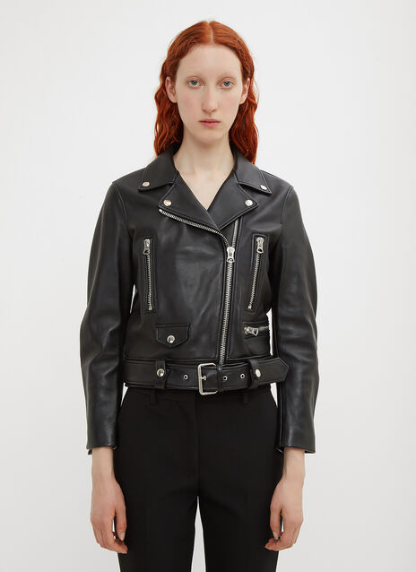 Acne Studios Mock Motorcycle Leather Jacket