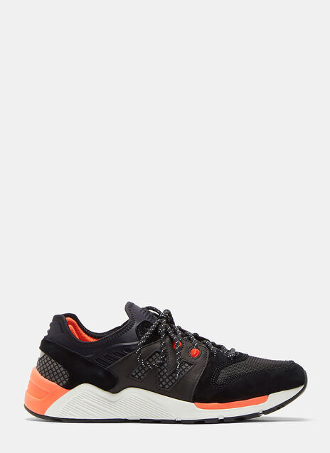 New Balance 009 Mesh Leather Sneakers
