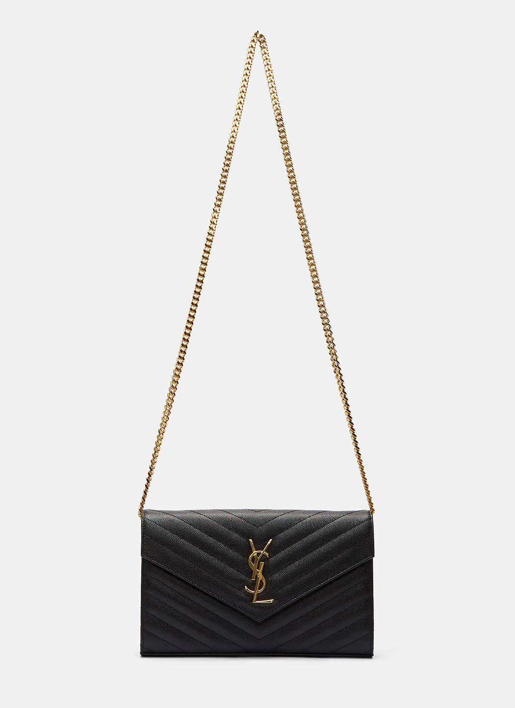 Saint Laurent Quilted Monogrammed Crossbody Bag | LN CC
