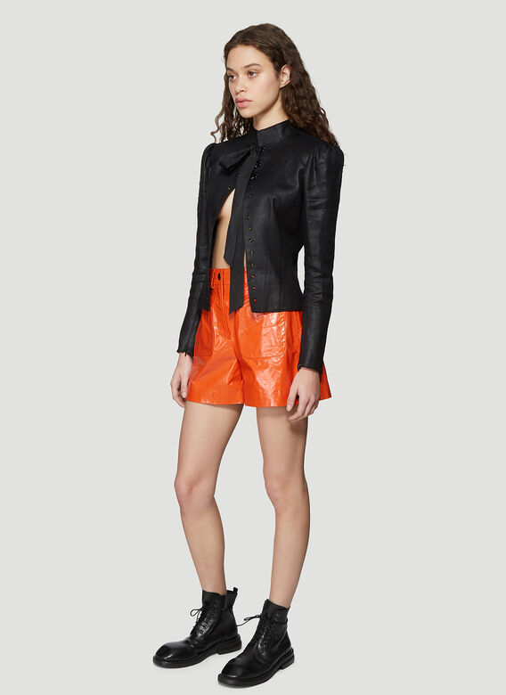 Olivier Theyskens SHORT WITH FRONT PATCH POCKETS 2