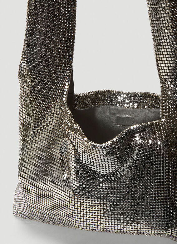 Kara Metal Mesh Crossbody Bag 6