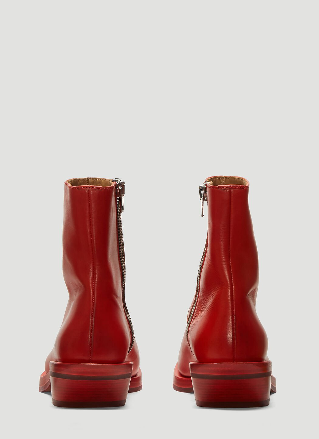 ION Number 5 Boots in Red | LN CC