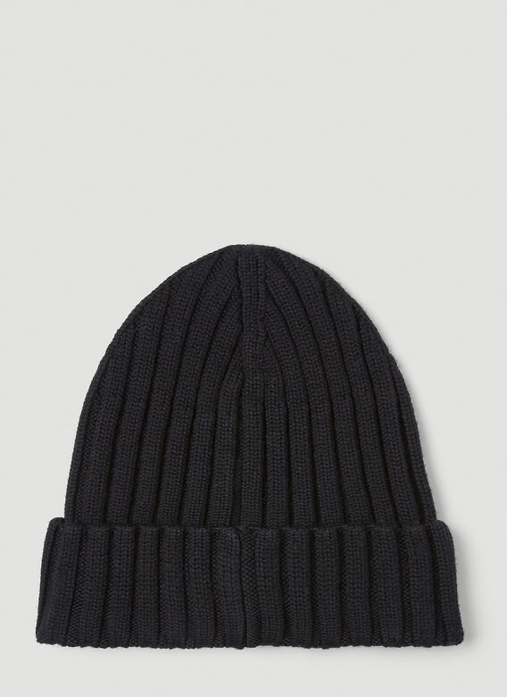 Moncler Chunky Knit Beanie Hat 3