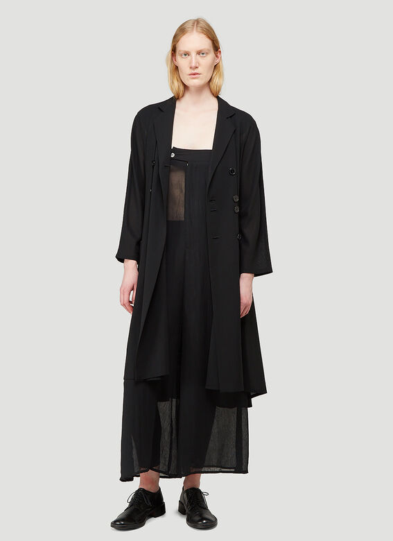 ARO ARCHIVE Sheer Oversized Trousers as Sleeveless Jumpsuit 5