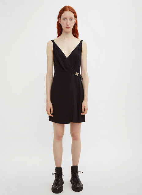 Prada Buckle Mini Dress