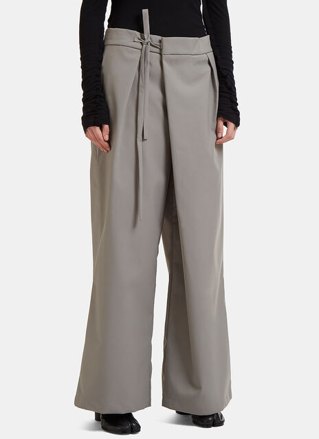 Folded Front Pants