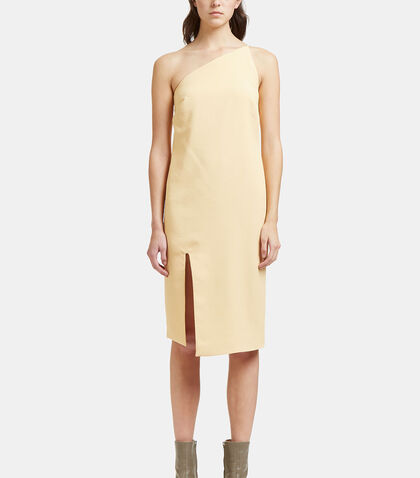 Peak One-Shouldered Dress
