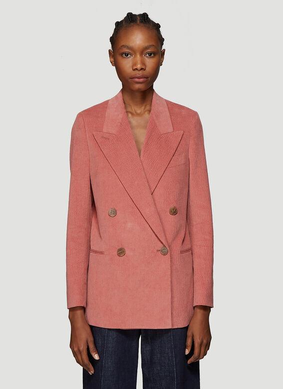 Summer Blazer In Pink by Acne Studios
