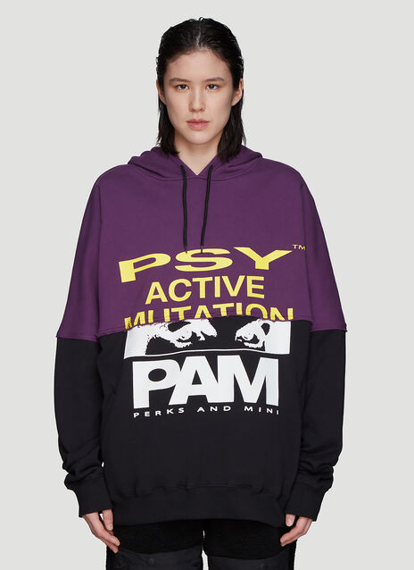 P.A.M Hooded Halfway Sweater