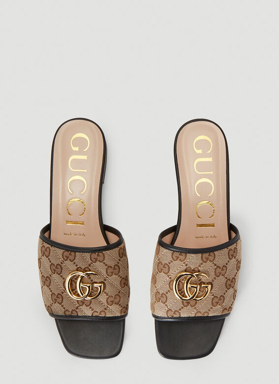 Gucci GG SLIDES OPEN TOES SANDAL 2