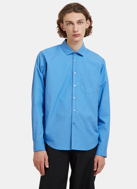 Embroidered Logo Classic Shirt