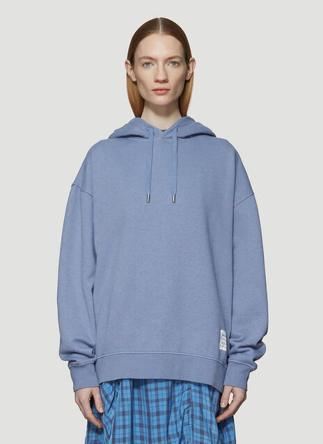 Acne Studios Hooded Label Sweatshirt