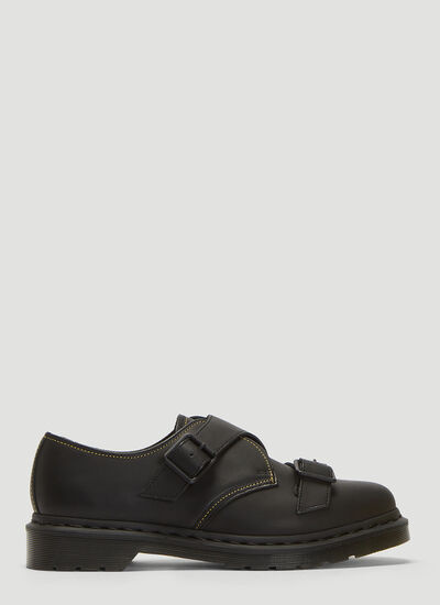 Yohji Yamamoto X Dr Martens Classic Derby with Monk Straps Shoes