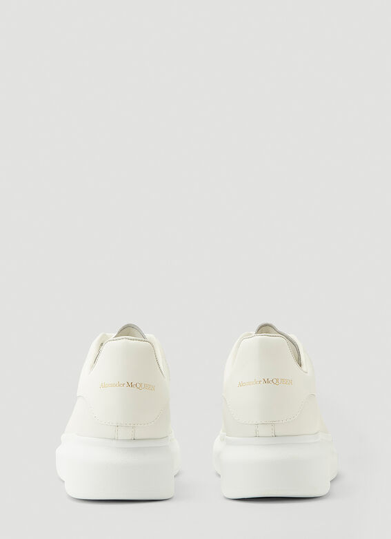 Alexander McQueen LARRY/LARRY LEATHER UPPER AND RU WHITE/WHITE 4