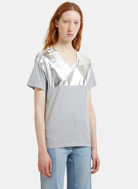 Charity AIDS Metallic T-Shirt