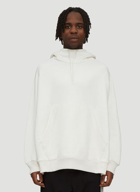 Y-3 Hooded Chenille Stripe Back Sweatshirt