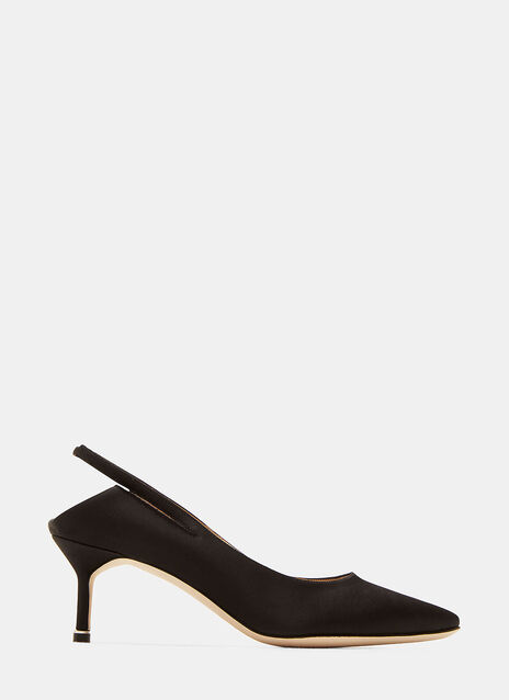 Vetements Manolo Blahnik Backless Kitten Heeled Pumps