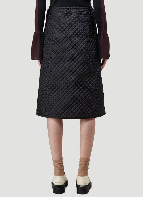 2 Moncler 1952 Quilted Skirt 4