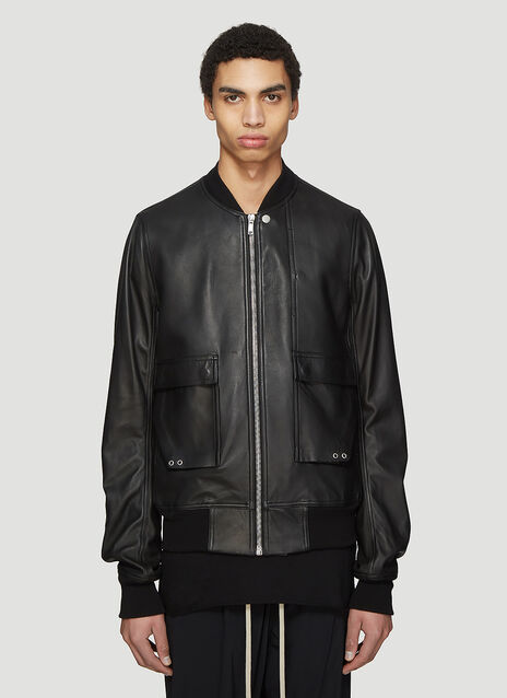 Rick Owens Babel Cop Flight Jacket