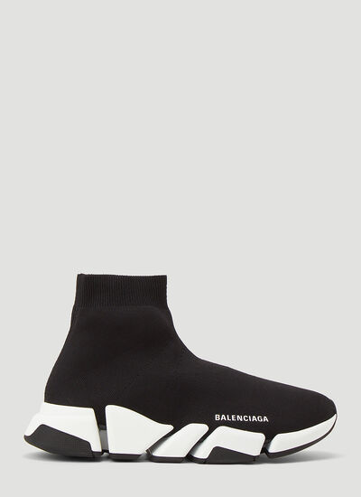 Balenciaga Speed 2.0 Recycled-Knit Sneakers