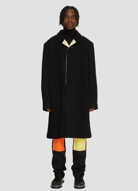 Raf Simons Satin Lined Classic Coat