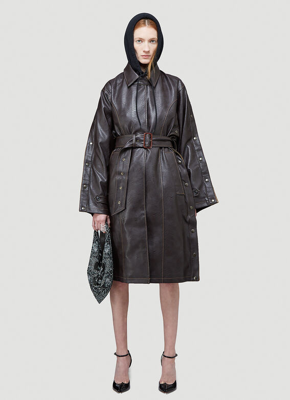 Y/Project SNAP TRENCH COAT 2