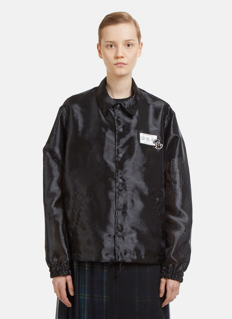 Facetasm Semi-Sheer Northern Soul Work Jacket