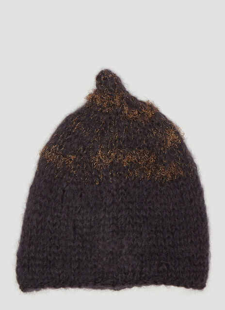 Flapper Dada Knit Beanie Hat