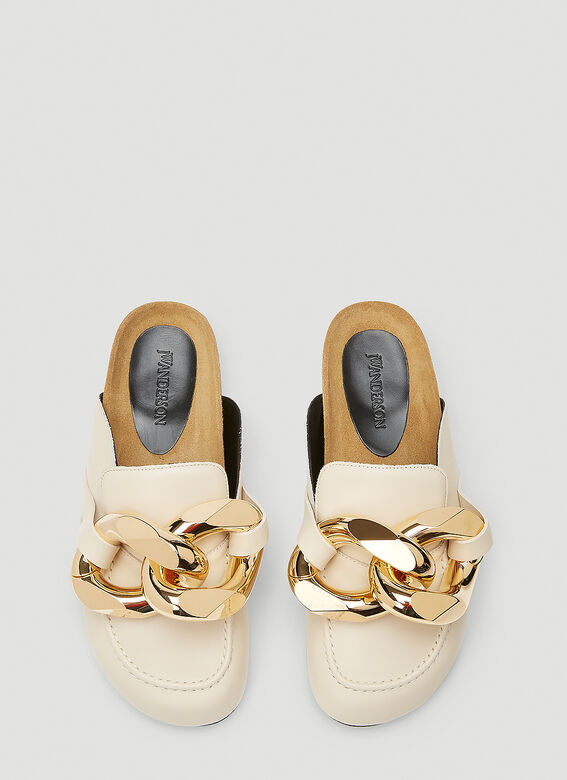 JW Anderson Chain Leather Loafers 2