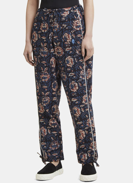 Story Mfg. Floral Cotton Pants