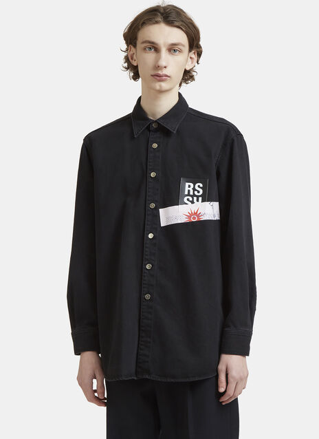 Raf Simons CV Denim Shirt