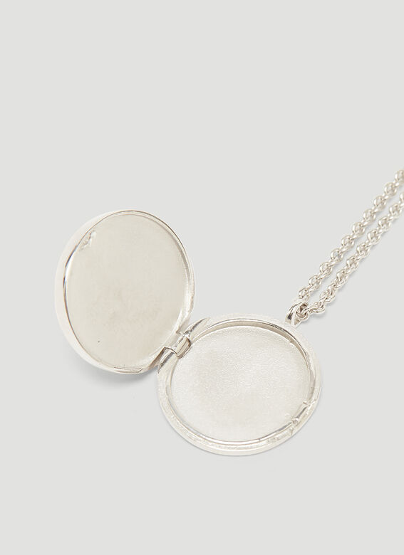 Tom Wood Mother of Pearl Pendant Necklace