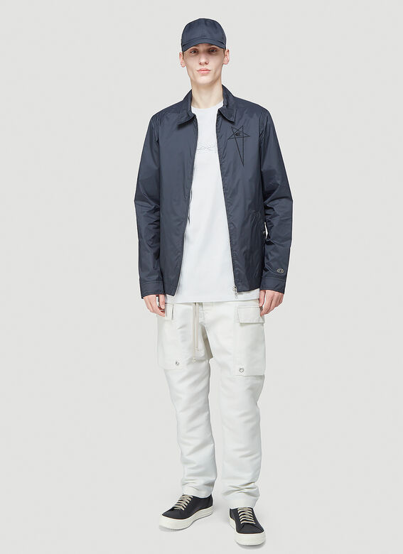 Rick Owens X Champion WORKER WINDBREAKER 2
