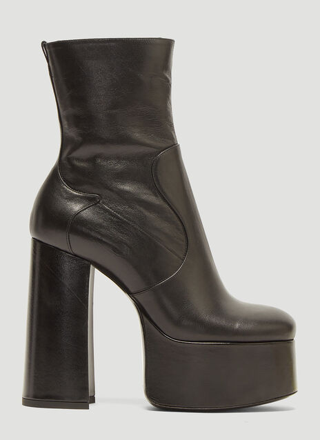 Saint Laurent Billy Platform Boots