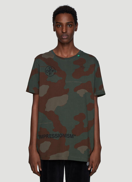 Off-White Camo T-Shirt