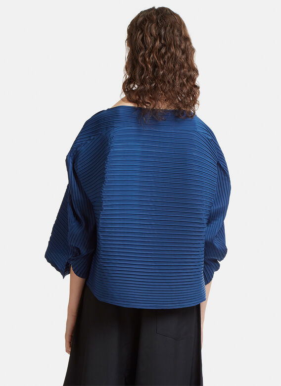 Issey Miyake Double Stream Solid Top