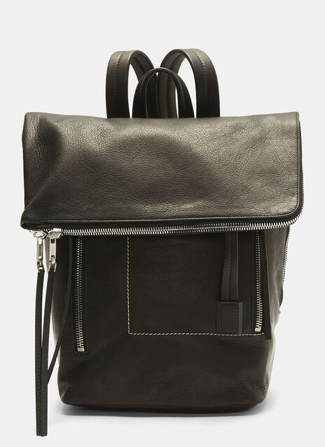 Rick Owens Small Leather Duffle Bag