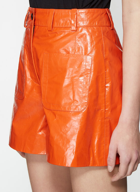 Olivier Theyskens SHORT WITH FRONT PATCH POCKETS 5