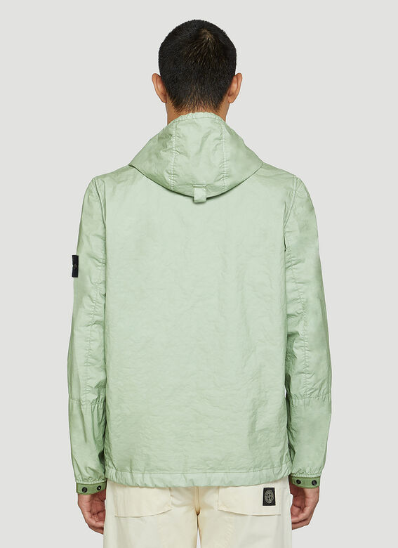 Stone Island Crinkle Hooded Jacket 4