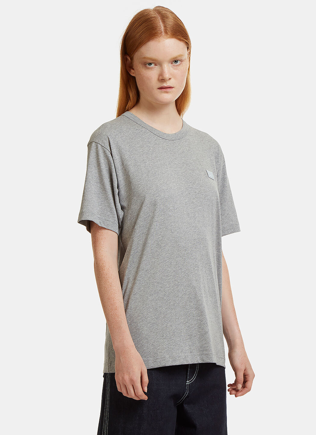 Acne Nash Face Embroidered T-Shirt