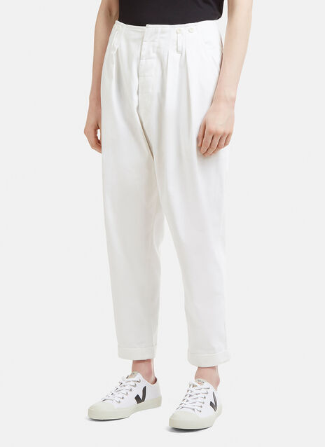 Katharine Hamnett Brace Pleat Pants