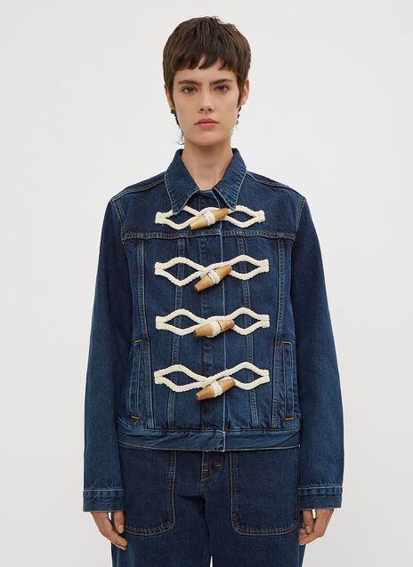 JW Anderson Oversized Toggle Denim Jacket