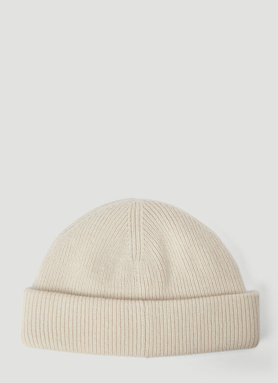 Acne Studios Ribbed-Knit Beanie Hat 3