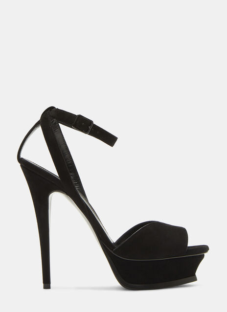 Saint Laurent Tribute 105 Stiletto Sandals